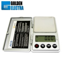 Timbangan Digital Mini Emas Batu akik, ACIS / MN-200 Pocket Scale