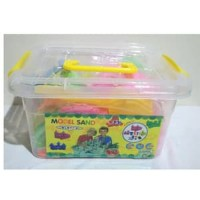 Mainan Edukasi Anak - Pasir Ajaib Model Sand Kinetik Ember Besar 2KG