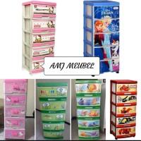 Harga best seller lemari pakaian laci2 5 susun kerakter murah bandung | Pembandingharga.com