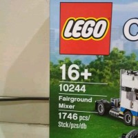 KUALITAS SUPER LEGO Creator 10244 Exclusive Fairground Mixer MMJA