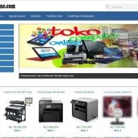 Software Aplikasi Toko Online Alat Elektronik