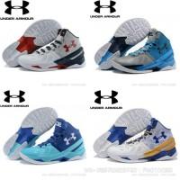 48353d7550a9 Termurah Sepatu Basket Under Armour Curry 3 Middle Hitam Merah Anti