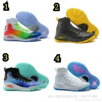 b86c912e2fb9 Terbaik Sepatu Basket Under Armour Curry 3 Middle Ringan Anti Licin