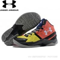 8933bca29e38 Paling Laku Sepatu Basket Under Armour Curry 3 Middle Hitam Merah Anti