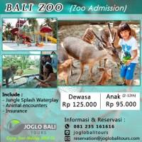 Harga voucher tiket bali zoo dewasa zoo admission | antitipu.com