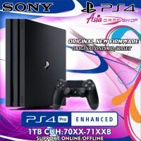 PLAYSTATION4 PS4 PRO 1TB FIRMWARE TERBARU ORIGINAL FULLSET BERGARANSI