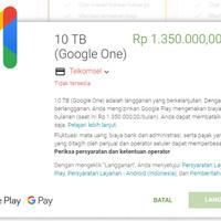 Google Drive 2TB/Tahun, Bisa Request Username + Aman Legal Recomended