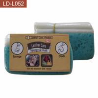 Leather Care Sponge & Cloth (Spons u. Membersihkan Kulit & Pakaian)