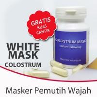 Harga masker susu colostrum masker alami muka pengganti masker | Pembandingharga.com