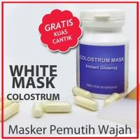 Harga masker colostrum masker alami untuk muka pengganti masker | Pembandingharga.com