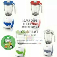 Blender Philips HR 2115 (Gelas berbahan plastik)