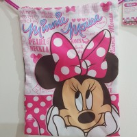 kantung serut minnie mouse