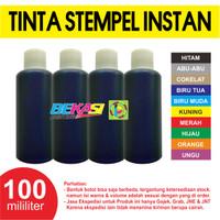 100 ML | Refill Tinta Stempel Warna / Instan / Otomatis