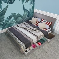 Doves Furniture - CHATERINA BED 3D 120 - Tempat Tidur - FREE ONGKIR