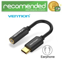 Vention Kabel Adapter USB Type C to 3.5mm AUX Audio - CFI - Hitam