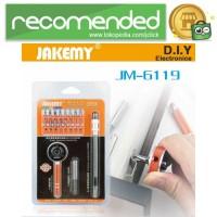 Jakemy 19 in 1 Obeng Set Fleksibel - JM-6119 - Black Orange