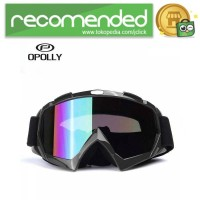 Kacamata Motor Motocross Ski Goggles Eye Protection Windproof - H013