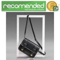 Tas Selempang Mini Korean Style Messenger Bag - X940539 - Hitam