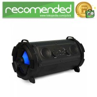 Rojem Outdoor Portable Bluetooth Speaker Subwoofer with Mic - HBPC160