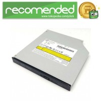 HL GT20F Slot 12.7mm SATA DVD RW Burner DRIVE LabelFlash - Silver
