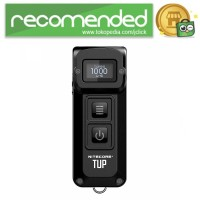NITECORE TUP Senter LED Mini USB Recharge Cree XP-L HD V6 1000 Lumens