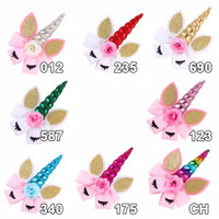 hairclip/jepit rambut unicorn horn