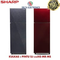 KULKAS SHARP SJ-246XG MS/MR Glassdoor