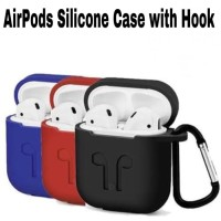 Apple Airpods Case Protection Silicone Pouch / Casing Pelindung Airpod