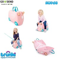 Trunki Luggage Flossi the Flamingo Original Koper Anak