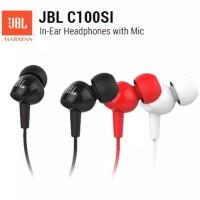 Handsfree Headset JBL C100SI ORIGINAL By Harman Garansi RESMI 1 Tahun