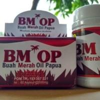 BMOP 60 Kpsl | Buah Merah Papua | Red Oil Wamena | Kapsul Buah Merah