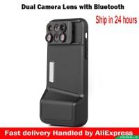 Harga lensa hp 6 in 1 dual for iphone x 10 10x 20x zoom macro | Pembandingharga.com