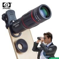 Harga lensa hp apexel 18x telescope zoom mobile phone lens for | Pembandingharga.com