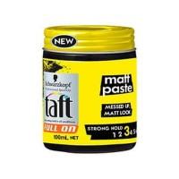 Schwarzkopf Taft Full On Matt Paste - 100mL