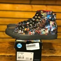 Sepatu Converse 70s Hi x DC Comics Joker Forever Black Very Limited