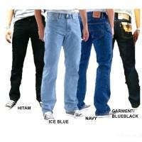 Celana Jeans Levis Pria / Panjang Standart Denim