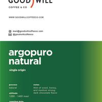 Kopi Arabica Argopuro Natural 200gr - Goodwill Coffee, Biji/Bubuk