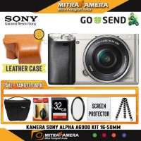 Kamera Sony Alpha A6000 Kit 16-50mm (Paket)
