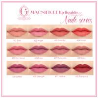 Madame Gie Magnifique Lip Liquide Nude Series