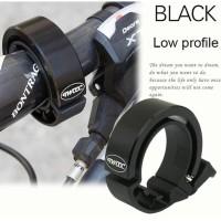TWOOC Klakson Bel Sepeda Suara Nyaring - CL-6 - Black