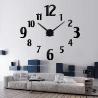 Jam Dinding 3D DIY Giant Wall Clock 100cm Model Number