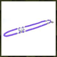 Girl Fashion Stylis Butterfly Bracelet Quartz Watch - Ungu