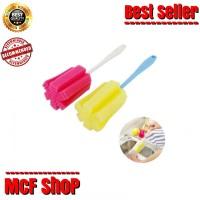 cleaner sponge / spons tongkat pembersih botol / gelas