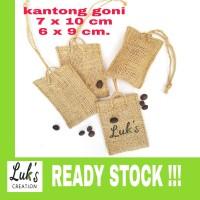 Kantong Parfum Kopi - Kantong Souvenir - Kantong Goni