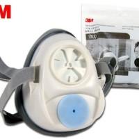 3M Reusable Half Face Masker Respirator 1200