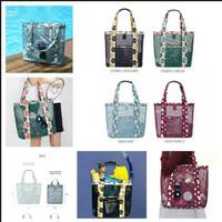 Tas wanita jaring transparan untuk belanja dan kosmetik - HHM295