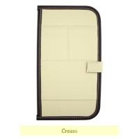 Tempat CD Mobil Sun Visor Multi Colour 'CREAM'