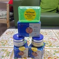 Paket Cream Deoonard Biru 7 Days Whitening + Sabun Deoonard