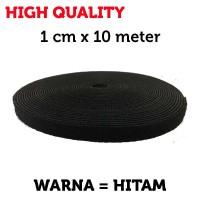 Velcro Pengikat Kabel 1CM X 10M FO/FIBER OPTIK HIGH QUALITY