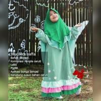 Naffa Kids/Gamis Anak/Gamis Balotelli/Baju Muslim Anak/Set Gamis